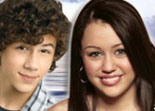 Miley Cyrus et Nick Jonas