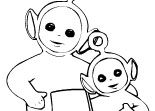 Coloriage T�l�tubbies