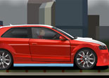 Voiture Tuning Audi A3
