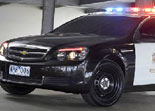 Voiture Chevrolet Police