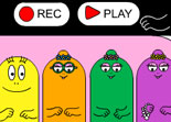 Piano Barbapapa