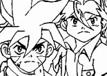 Beyblade �quipe � Colorier