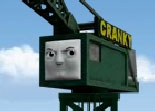 Cranky et Thomas Train � Charger