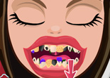Cerise Hood Maquillage apr�s le Dentiste
