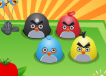Angry Birds G�teau Th�matique