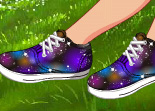 Faire ses Propres Chaussures Galaxie