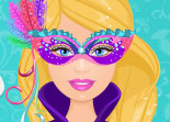 Barbie Dessine un Masque