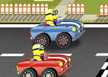Minions Course Folle Voiture