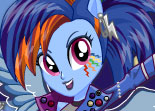 Rainbow Dash Coiffures Rock