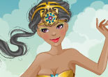 Princesse de Lumi�re � Habiller