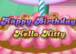 Hello Kitty G�teau d'Anniversaire