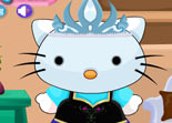 Hello Kitty Habillage Reine des Neiges