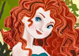 Princesse Merida Rebelle