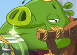 Angry Birds Puzzle Roi Cochon