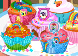B�b� Barbie Cupcakes Petit Poney