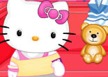 Hello Kitty Nettoyage de No�l