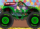 Monster Truck �crase des Zombies